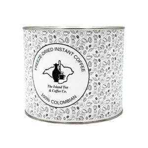 Island Tea & Coffee Colombian Freeze-Dried Coffee Per 500g Tin.