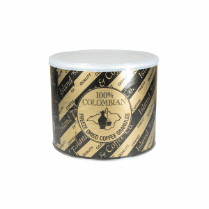Island Tea & Coffee Colombian Freeze-Dried Coffee Per 500g Tin.