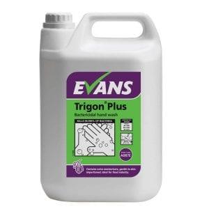 Evans Trigon Plus Unperfumed Bactericidal Hand Wash per 5Ltr