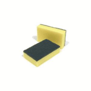 Sponge Scourers (Yellow & Green) x10