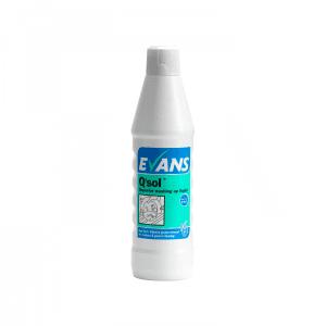 Evans Q`Sol, Superior washing up liquid & detergent per 1 Ltr