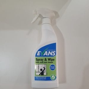 Evans Spray Clean and Wipe