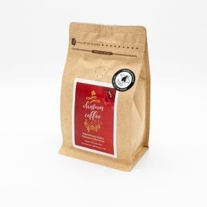 Christmas coffee bag from The Island Tea and Coffee Co. 200g