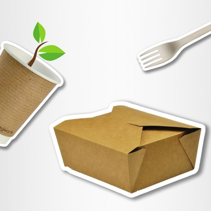 Vegware packaging Isle of Wight, Hampshire and UK